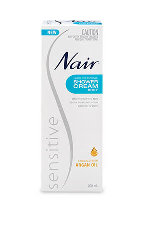 Nair Sensitive Hair Removal Shower Cream Nair