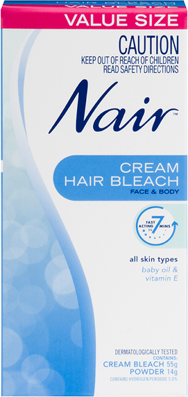 Nair Cream Hair Bleach for Face and Body 55g
