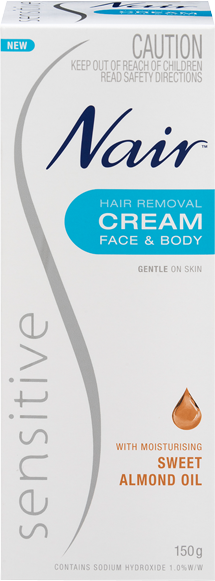 Nair Sensitive Hair Removal Cream 150g