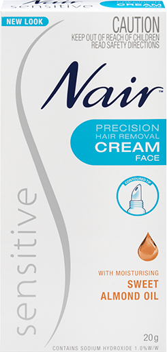 Nair Sensitive Precision Hair Removal Cream Nair Australia