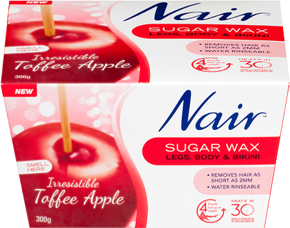 Nair Toffee Apple Sugar Wax 300g