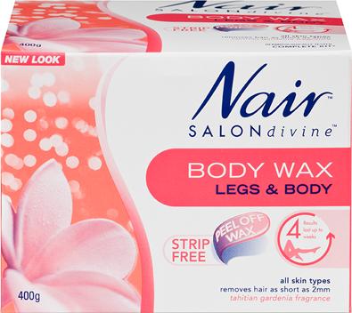 Nair Salon Divine Body Wax 400g