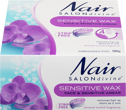 Nair Sensitive Wax Strips 100g
