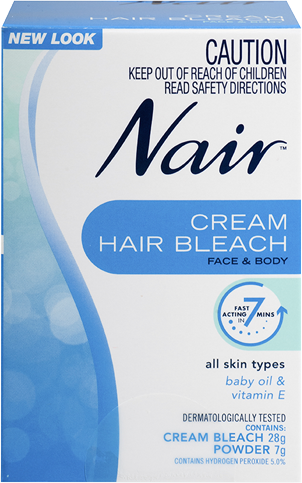 Nair Cream Hair Bleach for Face and Body 35g