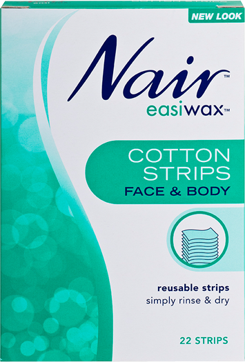 Nair Easiwax Cotton Strips 22 STRIPS