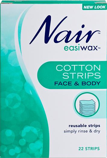 Nair Easiwax Cotton Strips 22 STRIPS