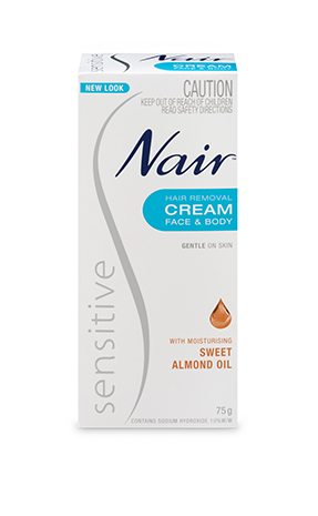 Nair Sensitive Hair Removal Cream Nair Australia