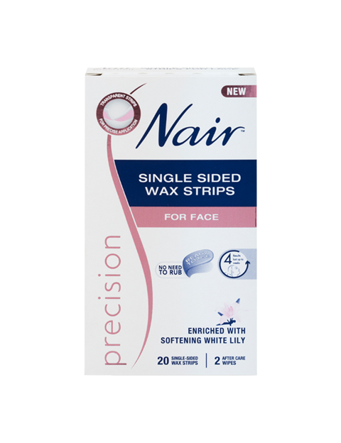 Nair Precision Single Sided Wax Strips 20