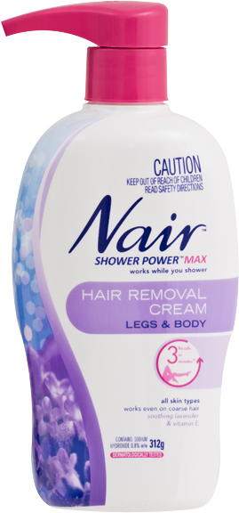 Nair Shower Power Max Hair Removal Cream 312g